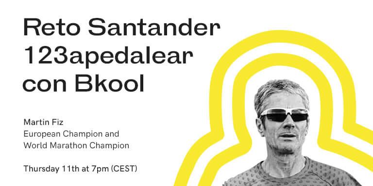 Reto Santander 123apedalear con Bkool