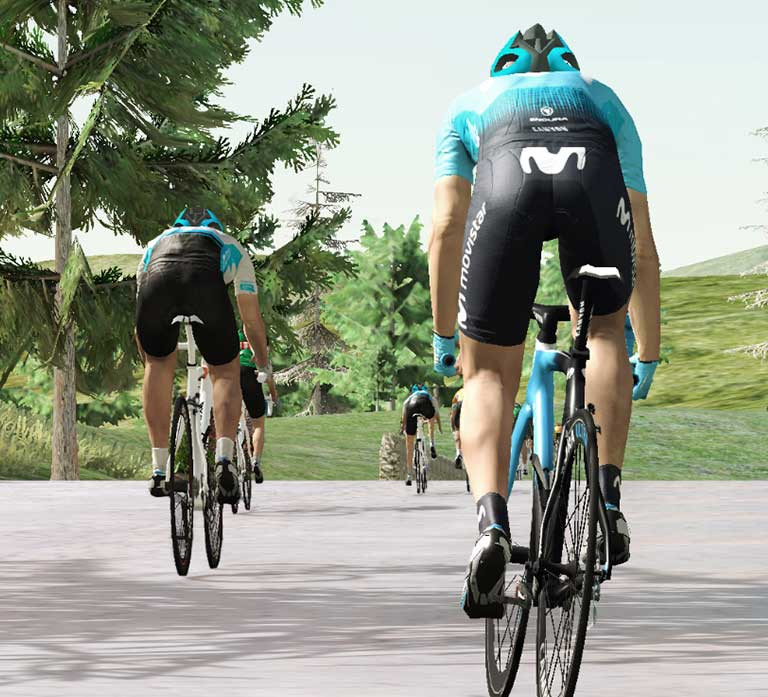 Movistar Virtual Cycling